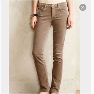 AG Adriano Goldschmied The Stevie Corduroy Pants
